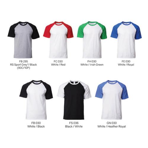 Gildan 76500 Raglan T-Shirt (180 gsm) 2