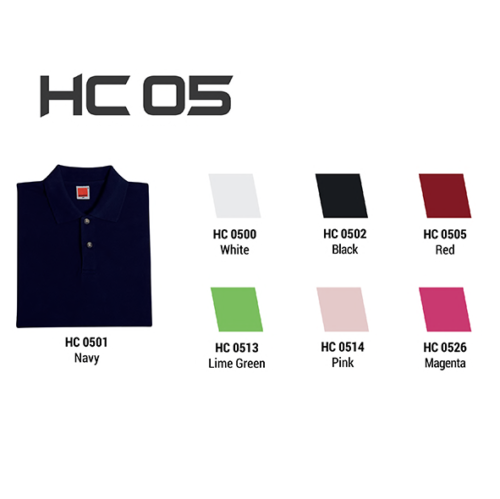 HC05 Plain Honeycomb Polo (Ladies) 2