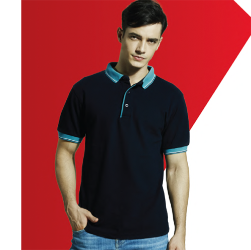 HC20 Two Tone Honeycomb Polo Shirt 1