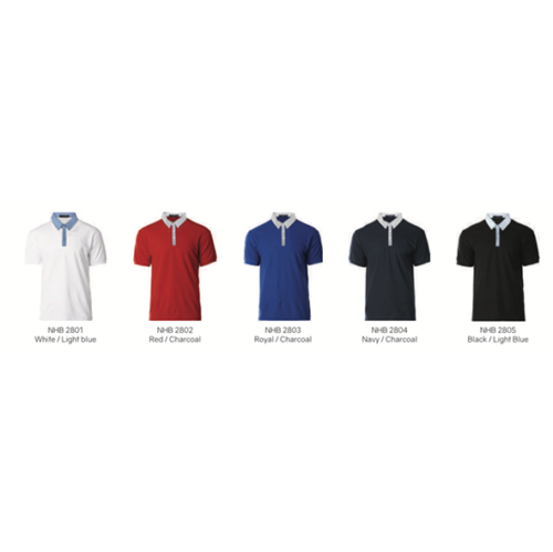 NHB 2800 Glance Cotton Polo 2