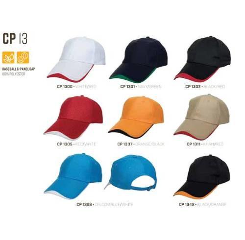 CP 13 Baseball 6 Panel 100% Polyester Cap 1