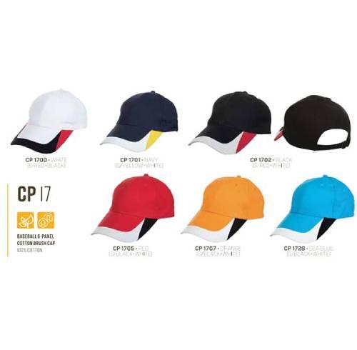 CP 17 Baseball 6 Panel 100% Cotton Cap 4