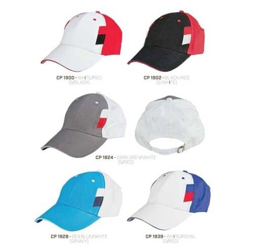 CP 19 Baseball 6 Panel 100% Cotton Cap 1