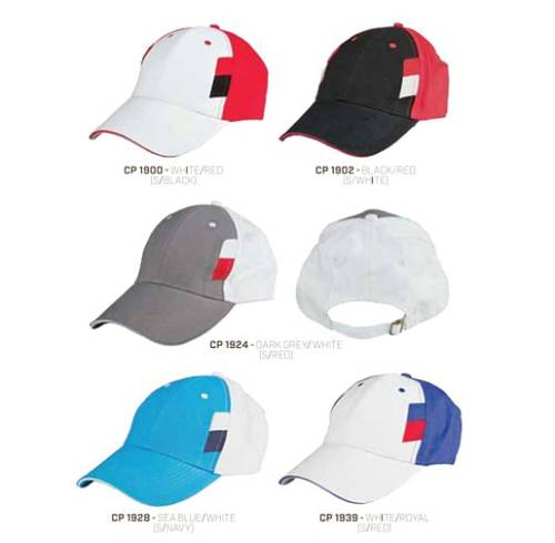 CP 19 Baseball 6 Panel 100% Cotton Cap 2