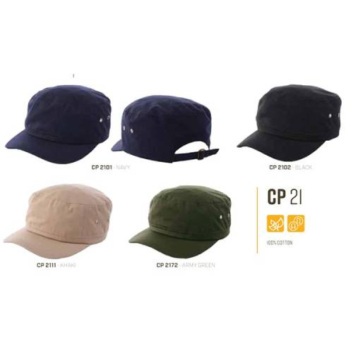 CP 21 100% Cotton Cap 3