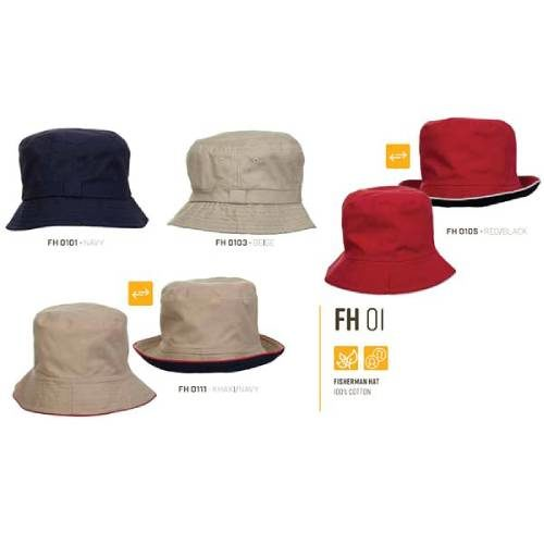 FH Fisherman Hat - 100% Cotton 1