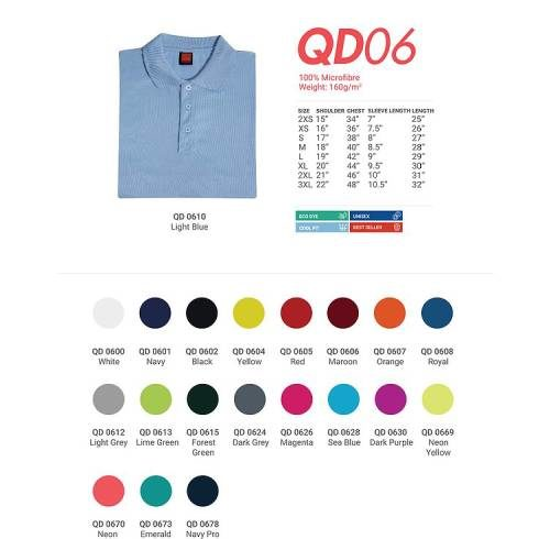 QD06 Quick Dry Fit Polo 3
