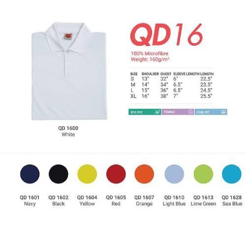 QD16 Quick Dry Fit Polo (Ladies) 3