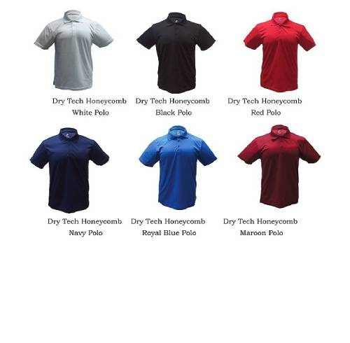 Dry Tech Honeycomb Polo 2