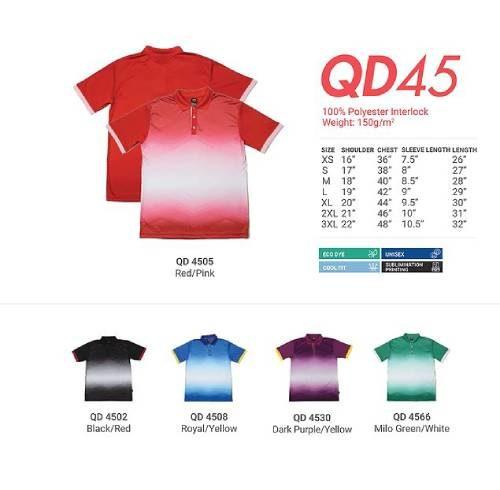 QD45 Polyester Interlock Polo 2