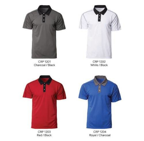 CRP1200 Optic Dri Fit Polo 2