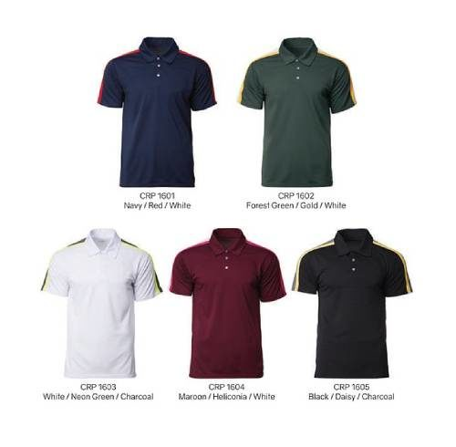 CRP1600 Racer Dri Fit Polo 2