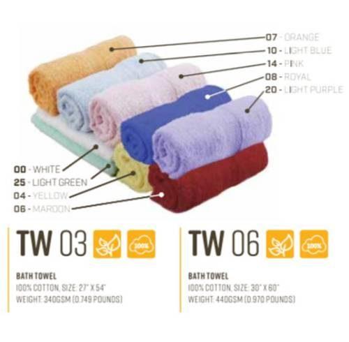 TW03/06  Hand /Bath Towel 1