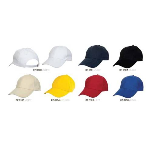CP 01 Baseball 6 Panel 100% Cotton Cap 4