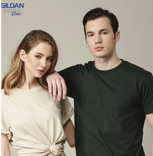 Gildan 76000 Premium Cotton RN (180 gsm) 6