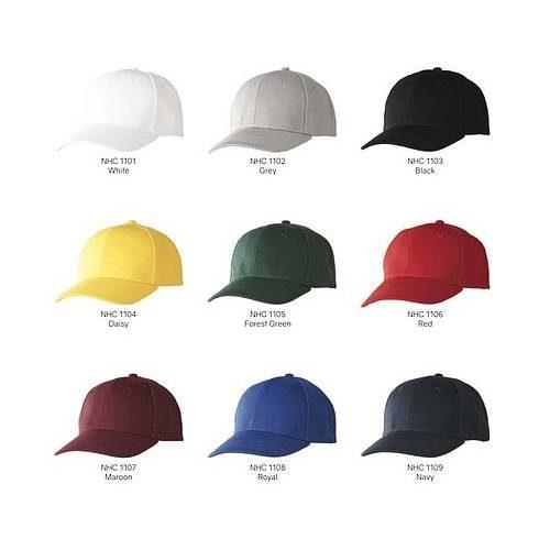 NHC1100 Baseball Cap (6 Panels) 1