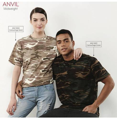 ANVIL Camouflage Cotton Shirt 1