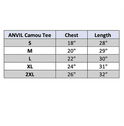 ANVIL Camouflage Cotton Shirt 2