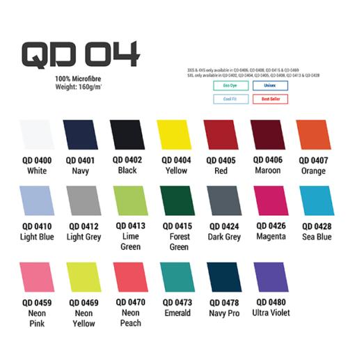 QD04 Quick Dry Fit Roundneck 2