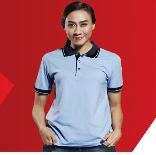SJ01 Polyester Cotton Polo Shirt 1