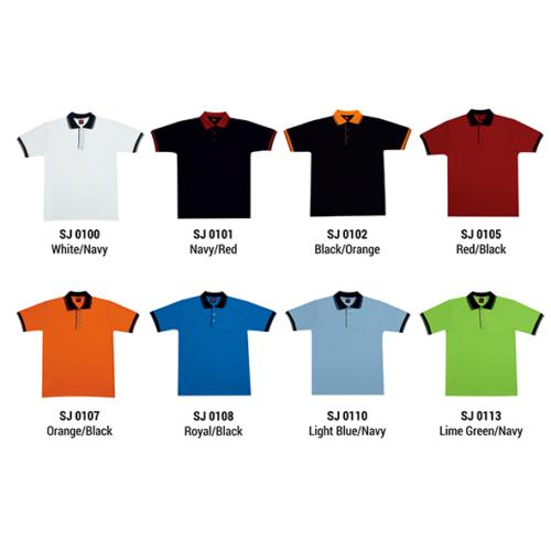 SJ01 Polyester Cotton Polo Shirt 2