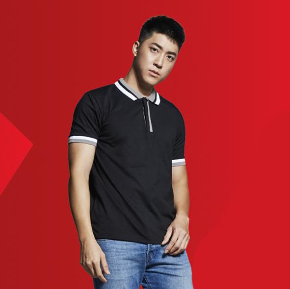 SJ04 Polyester Cotton Polo Shirt 5