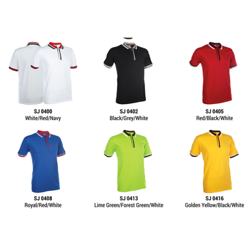 SJ04 Polyester Cotton Polo Shirt 2