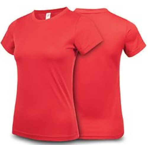 Anti Odor Eyelet Dri Fit Roundneck (Ladies Size) 5