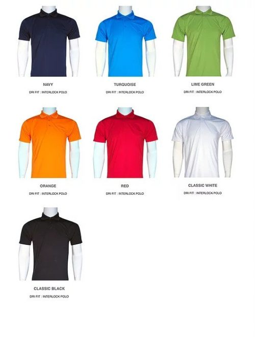 Smooth Dri Fit Interlock Polo 2