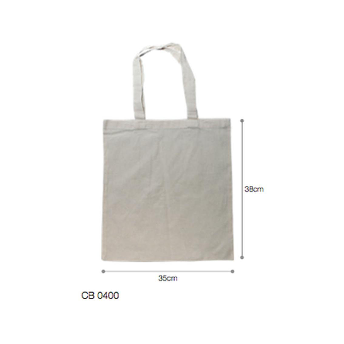 CB0400 8oz Natural Cotton 3