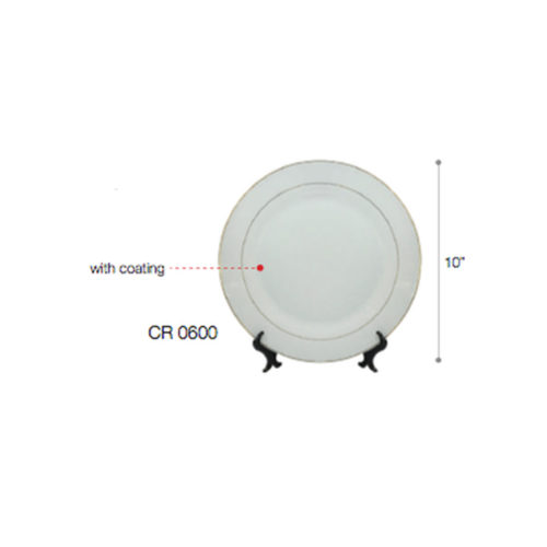 "CR0600 High Grade Ceramic w/ Coating and Stand (10"") 1"