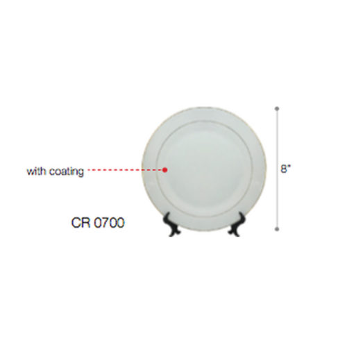 "CR0700 High Grade Ceramic w/ Coating and Stand (8"") 1"