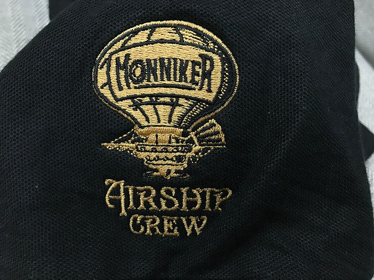 Embroidery logo 1