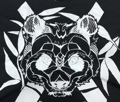 Black dri fit roundneck t shirt 6