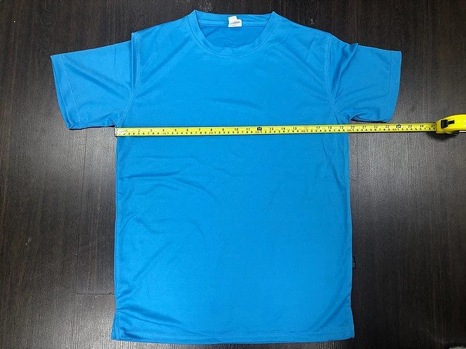 How to measure a shirt with size chart? 1