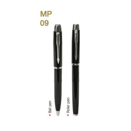 MP09  Metal Pen W/ Choice of Roller/Ball Tip 4