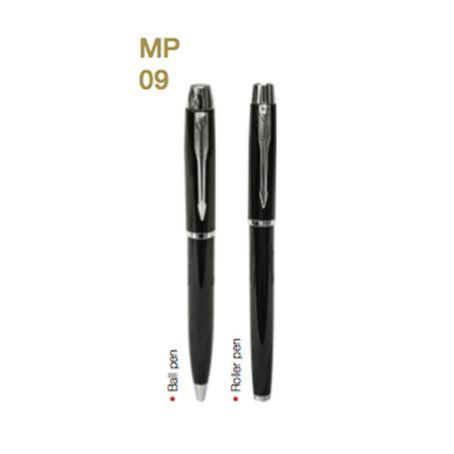 MP09  Metal Pen W/Choice of Roller/Ball Tip 5
