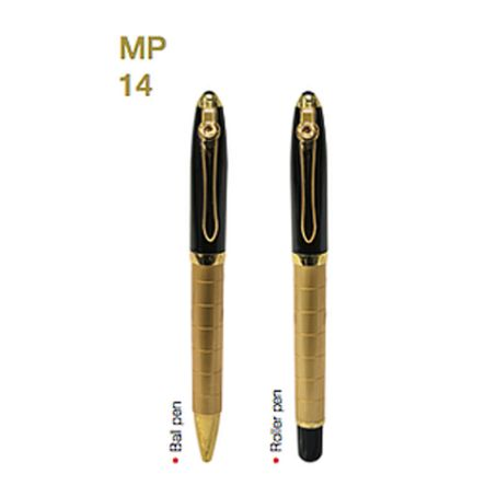 MP14 Metal Pen W/ Choice of Roller/Ball Tip 1
