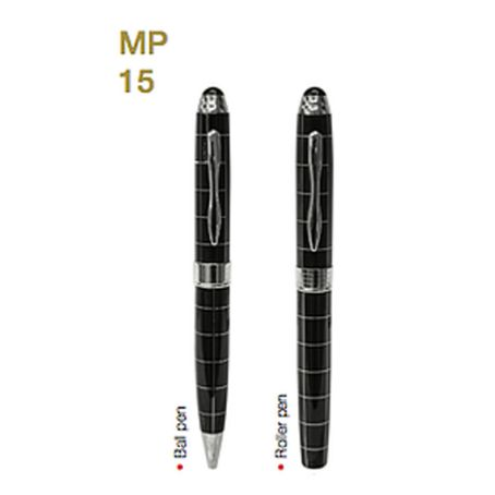 MP15 Metal Pen W/ Choice of Roller/Ball Tip 1