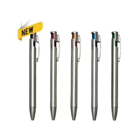 PP62 Plastic Pen w/ Black Ink 1