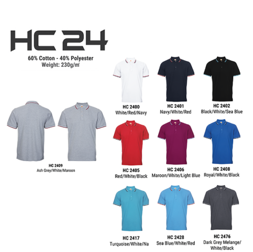 HC24 Honeycomb Polo Shirt 2